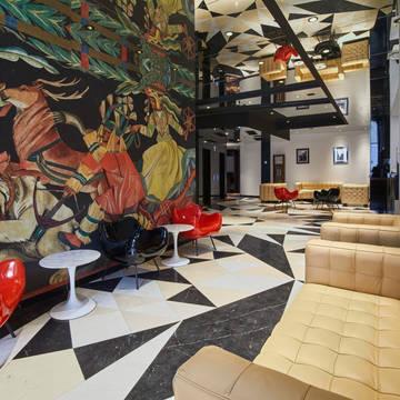 Lobby Inx Design Hotel