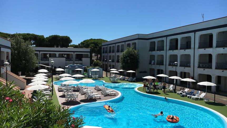 Zwembad Michelangelo Family Resort