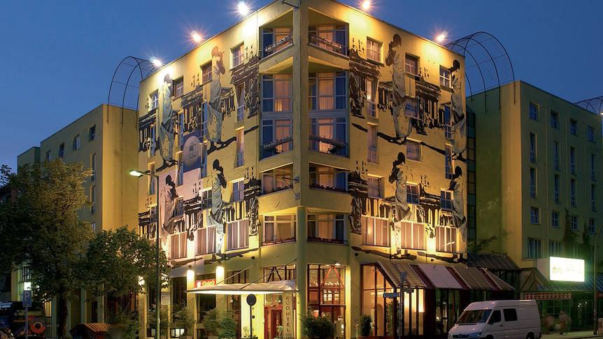 Voorzijde Hotel Amber Econtel Berlin Charlottenburg
