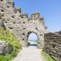 Tintagel Castle, Corwnwall