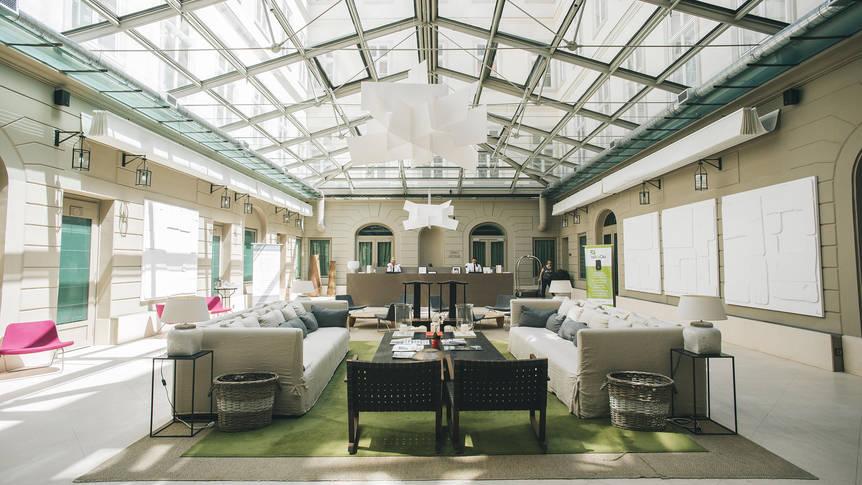 Lobby Hotel Zenit Budapest Palace