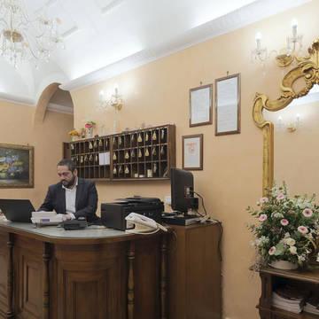 Receptie Hotel Oriente