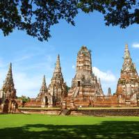 Ayutthaya, Chaiwattanaram tempel