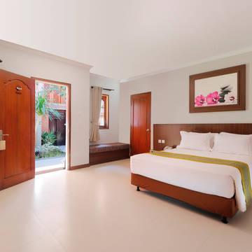 Voorbeeld Deluxe kamer Adi Dharma