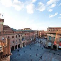 Piazza Maggiore op ca. 15 minuten wandelen