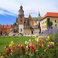 Kasteel Wawel, op ca. 20 minuten loopafstand van het hotel!
