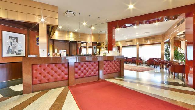 Receptie Hotel Best Western Antares Concorde