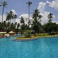 Zwembad met tuin