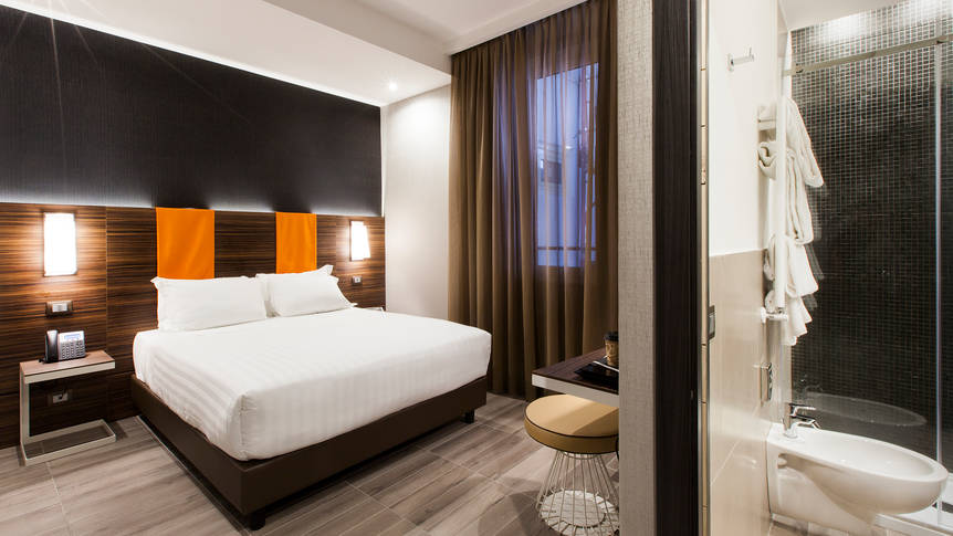 Classic kamer The Republic (voorheen: Smooth Hotel Rome Repubblica)