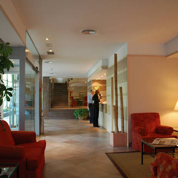 Receptie Hotel Senator Castellana