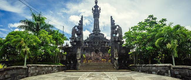 Bajra Sandi monument in Denpasar