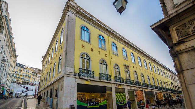 Voorzijde Hotel Inn Rossio