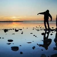 Botnische Golf zonsondergang - Foto: Tomi Lehtola
