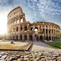 Colosseum op ca. 10 minuten wandelen