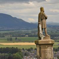 Beeld bij Stirling Castle