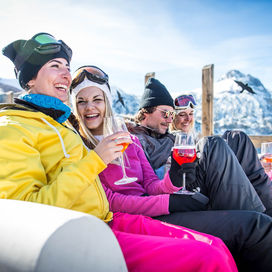 Mini ski wintersport