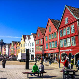 Bergen Bryggen - Foto: Trude Remmen