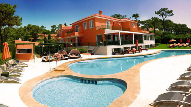 zwembad Boutique Hotel Senhora da Guia
