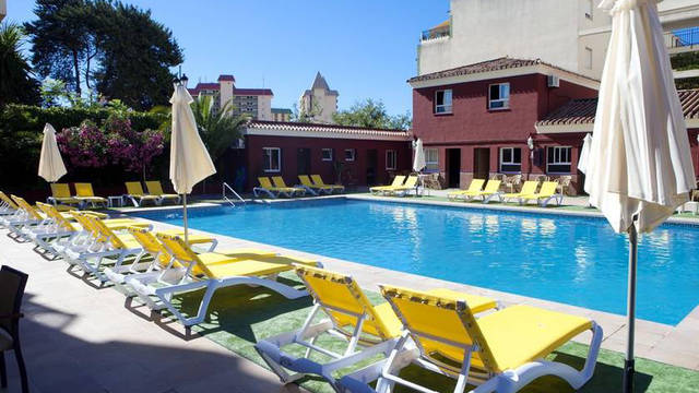 Zwembad Itaca Fuengirola Hotel Itaca Fuengirola