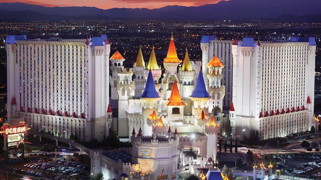 Exterieur Hotel Excalibur & Casino