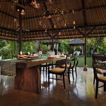 Restaurant The Pavilions Bali