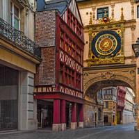 Rouen - Rue de l'Horloge