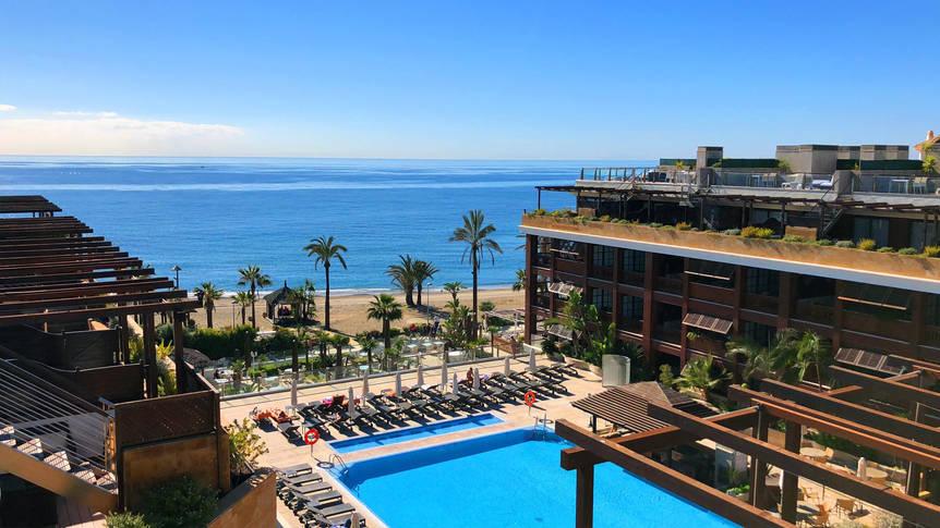 Uitzicht Gran Hotel Guadalpin Banús