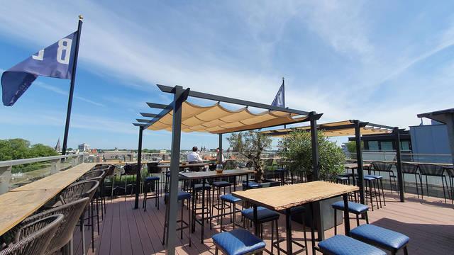 Terras 3-daagse Stedentrip 'Bruisend Arnhem' incl. diner - Best Western Plus Hotel Haarhuis