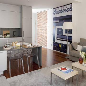 Woonkamer Appartementen Eric Vökel Madrid Suites