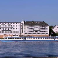 Hotel am Rhein voorzijde