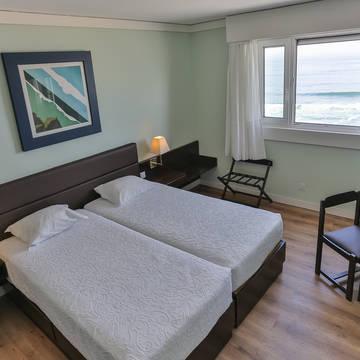Voorbeeld slaapkamer 3-kamerappartement Appartementen Solverde