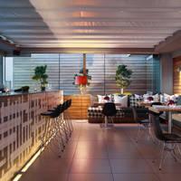 Lounge met bar/restaurant