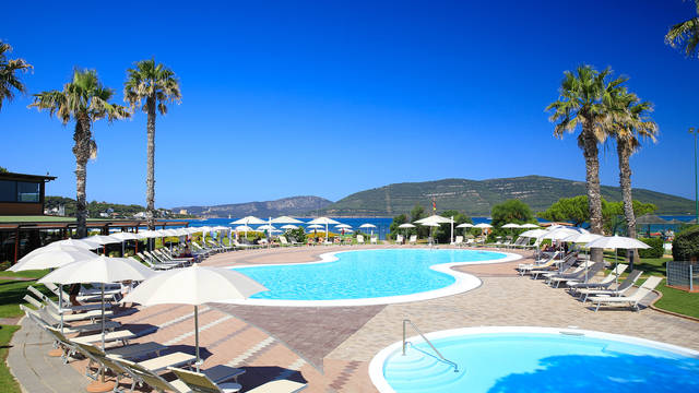 Buitenzwembad Hotel Corte Rosada - adults only