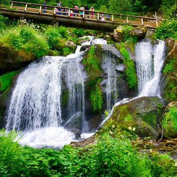 Triberg watervallen Best Western Plus Schwarzwald Residenz