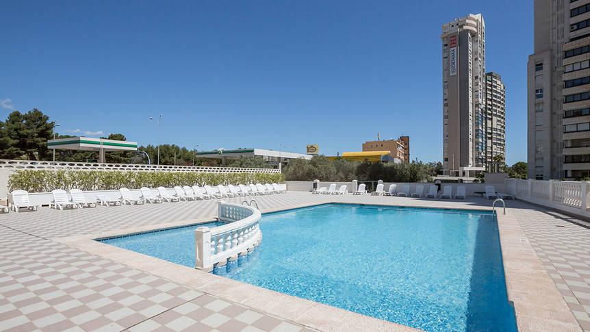 Zwembad Appartementen Pierre & Vacances Benidorm Levante