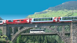panoramarijtuig Glacier Express