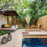 Voorbeeld Plunge Pool Villa - terras en zwembad