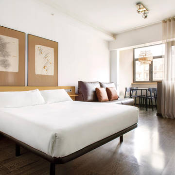 Slaapkamer Appartementen Aramunt Barcelona