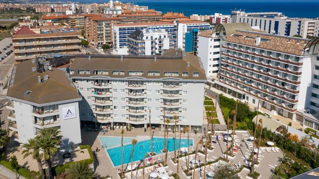 Ligging Aqua Hotel Montagut & Suites