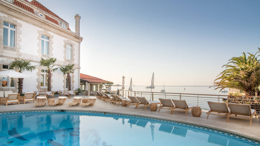 Zwembad Hotel Albatroz
