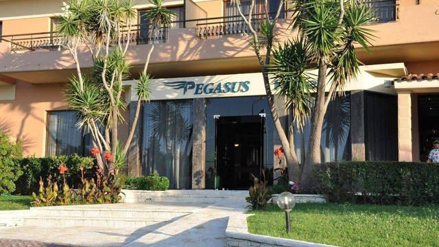Pegasus Hotel - Entree Pegasus Hotel