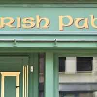 Ierse Pub teken