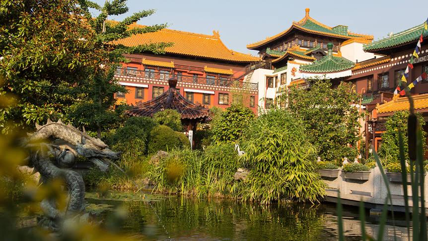 Tuin Hotel Ling Bao Hotel Ling Bao