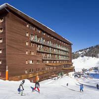 Wintersport Le Terra Nova in La Plagne (Franse Alpen, Frankrijk)