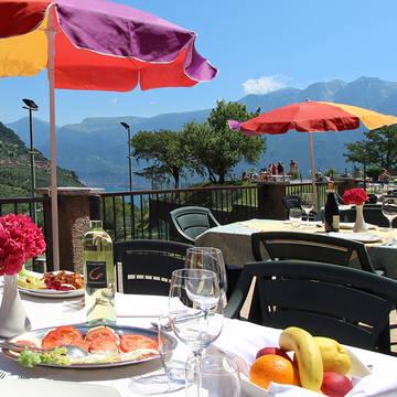 Restaurant op ca. 50 m Hotel Garni al Poggio