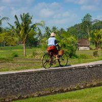 Bali op de fiets