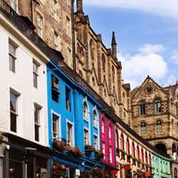 Edinburgh, Old Town - Victoria Street