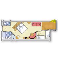 3/4-persoonskamer Junior Suite