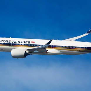 Singapore Airlines A350 - de Jong Intra Vakanties