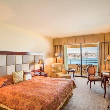 Voorbeeld kamer Grand Hotel Excelsior